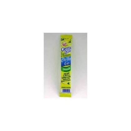 Crystal Light Products - Crystal Light - Flavored Drink Mix, Lemonade, 30 8-Oz. Packets/Box - Sold As 1 Box - Turns Bottle Of Water Into Flavored Drink. - Sugar Free; 5 Calories Per Serving. - Great For Those On The Go.