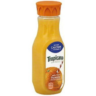Tropicana Pure Juice With Calcium, Orange, 12 Ounce (Pack Of 12)