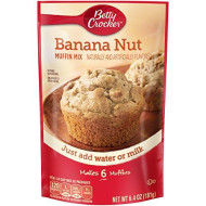 Betty Crocker Banana Nut Muffin Mix - 6.4 oz