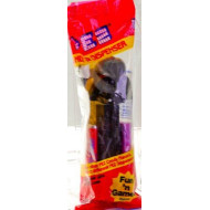 PEZ Candy Inc - Candy & Dispenser - Star Wars - Darth Vader Head & Black Stem - Strawberry & Grape Candy - Original Red Bag Packaging - Made in China - New - Rare - Limited Edition - Collectible