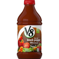 V8  Original With Hint Of Black Pepper 100% Vegetable Juice, 46 Oz. Bottle