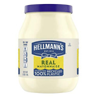 Hellmann's Mayonnaise for Delicious Sandwiches Real Mayo Gluten Free, Rich in Omega 3-ALA 64 oz (10048001265353)