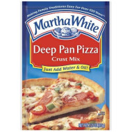 Martha White Deep Pan Pizza Crust Mix, 7.25 Ounce (Pack Of 12)
