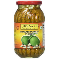 Mother'S Recipe Punjabi Mango Pickle 500 Grams, 17.64 Oz