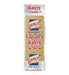 Lance Captain's Wafers Crackers Individual Packs, 500 Count
