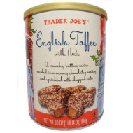 Trader Joes English Toffee With Nuts,30 Oz