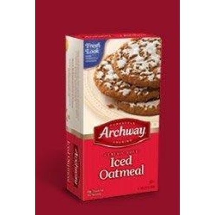 Archway Archway Classic Soft Iced Oatmeal Cookies, 9.25 Ounce