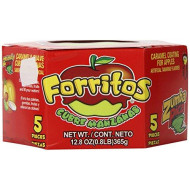 Zumba Pica Forritos with Natural Tamarind, 5 Count