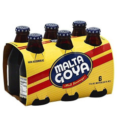 Goya Malta 6 Pack, 7 Oz Bottles