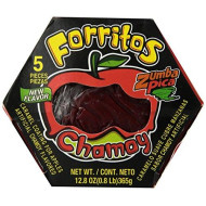 Zumba Pica Forritos Cubre Manzanas (Caramel Coating for Apples Chamoy) 5pc
