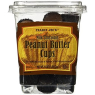 Trader Joe'S Milk Chocolate Peanut Butter Cups 16 Oz(1 Lb)