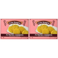 Twin Dragon Almond Cookies, 8 Oz (Pack Of 2)