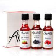 Amoretti Premium Syrups Berry 3 Pack (50Ml)