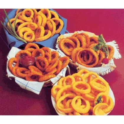 Fishery Natural Batter Onion Ring, 10 Pound -- 1 Each.
