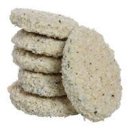 Windsor Freds Breaded Circle Zucchini, 4 Pound -- 6 Per Case.