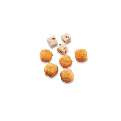Mccain Anchor Breaded Hot Pepper Cheese Cube - Appetizer, 3 Pound -- 6 Per Case.