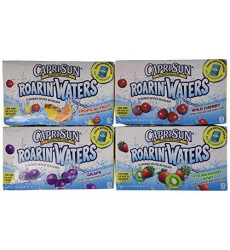 Capri Sun Roaring Waters Juice Box, 60 Ounce - 40 Count