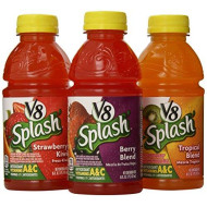 V8 Splash Variety Drink, Assorted, 12 - 16 oz. Bottles