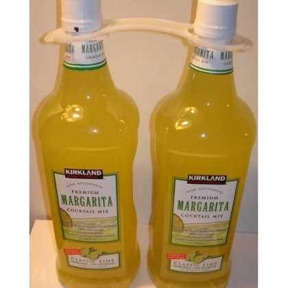 Kirkland Premium Margarita Cocktail Mix, 1.75 L(59.2 fl oz), Pack of 2