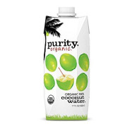 Purity Organic Coconut Water, 100% Organic Coconut Water, 17 Ounce(Pack of 12)
