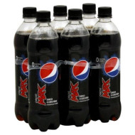 Pepsi Cola, 16.9 Fl Oz ( Pack Of 2)  (Max Cola 0 Calorie)