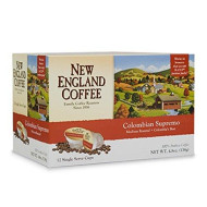 New England Coffee Colombian Supremo K-Cups 12 Count