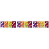 Lot Of 12 (6Ct.) Boxes- Mixed Variety Crush & Squirt Sugar Free- Singles To Go! 3 Strawberry, 3 Orange, 3 Grape & 3 Squirt!.