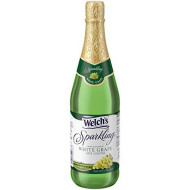 Welch'S Sparkling Juice Cocktail, Non-Alcoholic, White Grape, 25.4 Ounce (Pack Of 12)