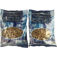 Trader Joe'S Organic Wheat Free Cholesterol Free Sodium Free Brown Rice Penne Pasta, 1Lb - 2 Pack