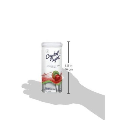 Crystal Light Strawberry Kiwi Drink Mix (72 Pitcher Packets, 12 Canisters Of 6)