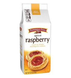 Pepperidge Farm, Apricot Raspberry Cookies, 6.75oz Bag (Pack of 4)