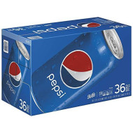 Pepsi Cola Cans, 36 Count