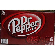 Dr. Pepper Soda 12 Oz Can (36 Cans)
