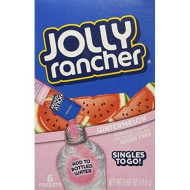 Jolly Rancher Singles To Go - Variety (Pack Of 6) (Watermelon)