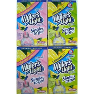 Wyler'S Light Lemonade And Pink Lemonade Singles To Go 4 Boxes