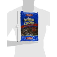 Stauffer'S, Animal Crackers, Chocolate, 20Oz Bag (Pack Of 4)