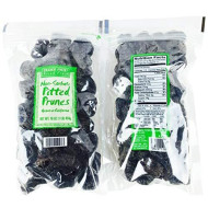 Trader Joe'S Non Sorbate Pitted Prunes...2 16 Oz. Bags