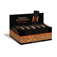 Wonderful Almonds, Roasted And Salted, 1.5 Ounce Bags (Pack Of 24)
