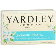 Yardley London Jasmine Pearl Bar Soap, 4.25 Oz (Pack Of 6)