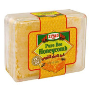 Ziyad Raw All-Natural Honeycomb, 100% Pure Unfiltered Honey Comb, No Additives, No Preservatives, Fresh From The Farm! 14 Oz