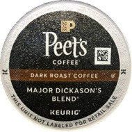 Peet's Coffee Major Dickasons Single Cup cpsule, 96-Count (6 boxes of 16 count each)