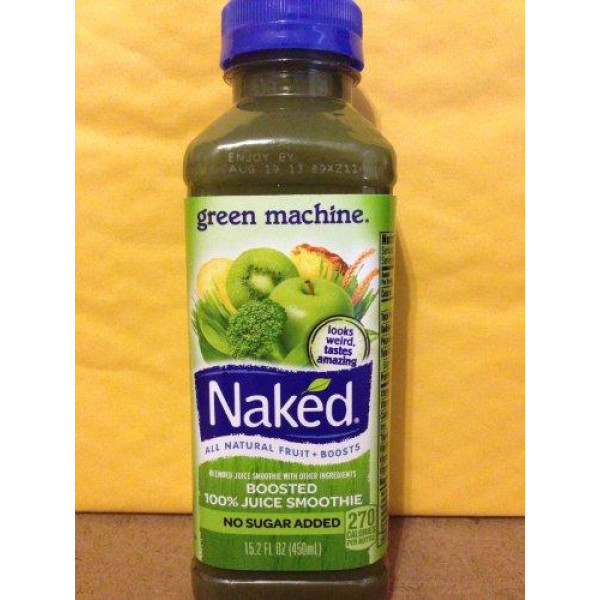 Naked Boosted Green Machine Juice Smoothie (32 fl oz) from Safeway - Instacart