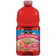Langers 100% Juice With Vitamin C, Apple Cranberry, 64 Ounce (Pack Of 8)