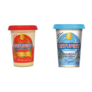 Requeijao Brazilian Cream Cheese - Light And Traditional - 4 Pack