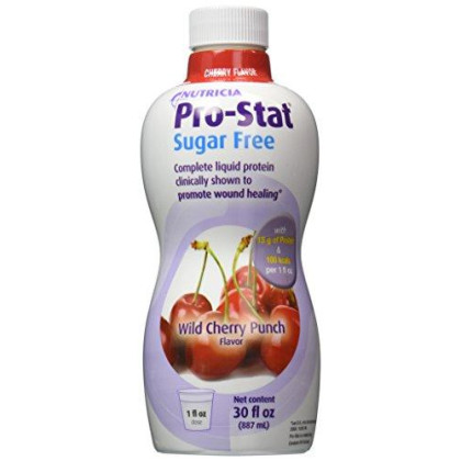Protein Supplement Pro-Stat Sugar Free Wild Cherry Punch 30 Oz