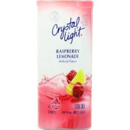 Crystal Light Raspberry Lemonade, 12-Quart 1.8-Ounce Canister (Pack Of 2)