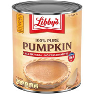 Libby'S Pumpkin Pie, Desserts. Pumpkin Pie Filling, 100% Pure Pumpkin, 106 Oz Can Bulk