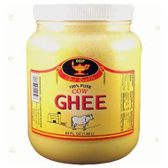 Deep Pure Cow Ghee Clarified Butter, 64 Ounce