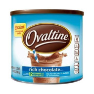 Ovaltine Nutritional Drink, Rich Chocolate, 1.12 Lb [Pack Of 2]
