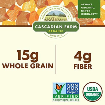 Cascadian Farm Organic Graham Crunch Cereal 9.6 Oz Box